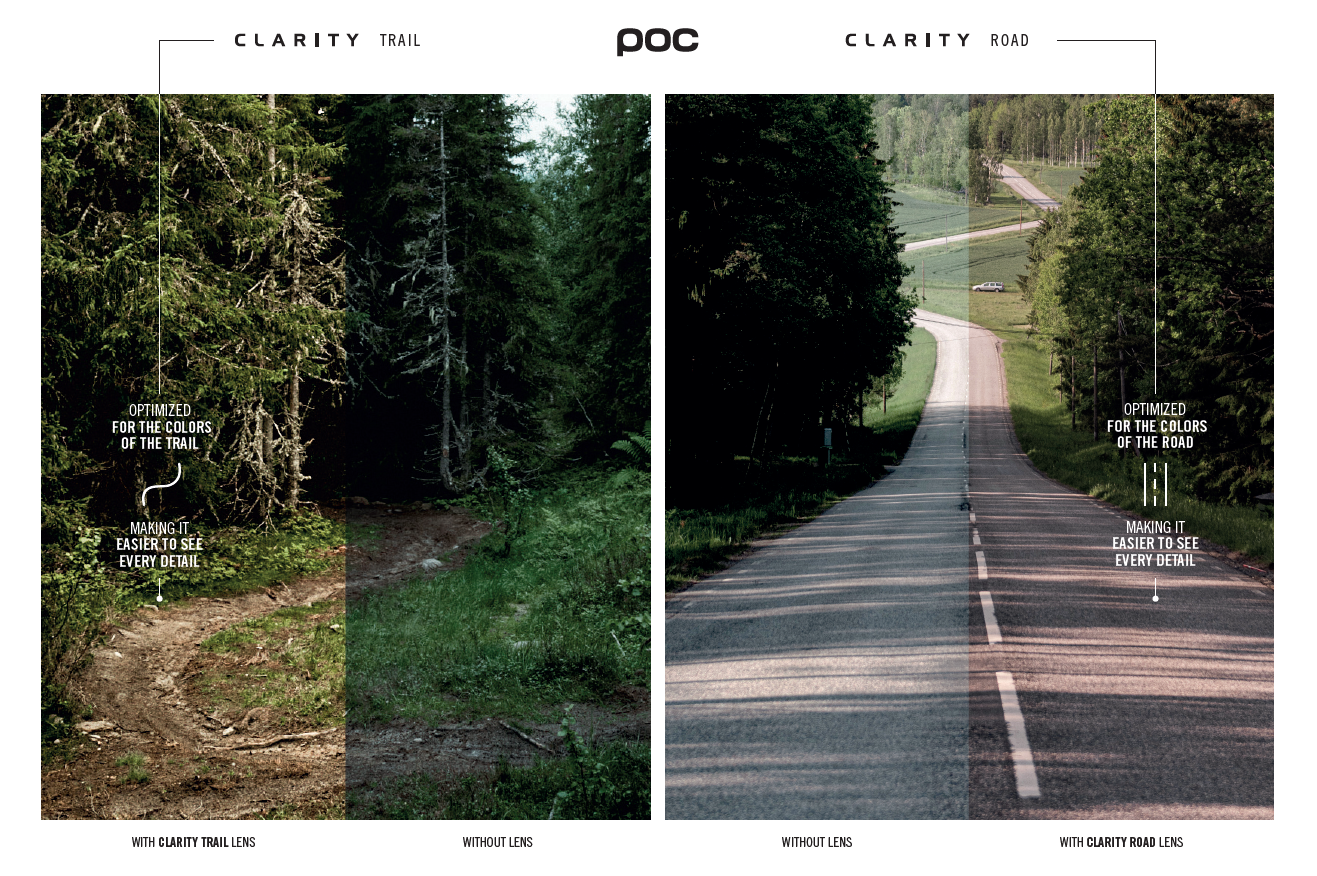 Clarity MTB + Road Visual