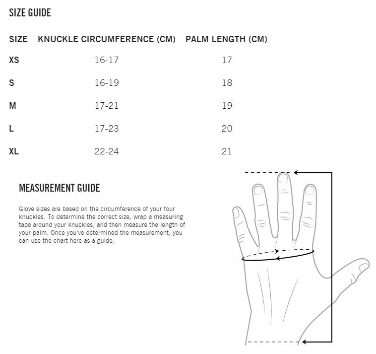 POC-Glove-SizingChart-fullgraph(withhand)